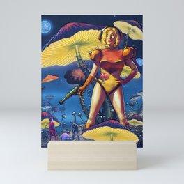 Mushroom Mother Mini Art Print