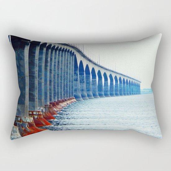 Confederation Bridge New-Brunswick Rectangular Pillow