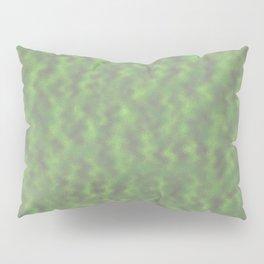 Green Abstract  Pillow Sham