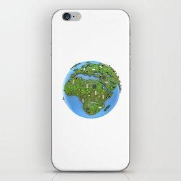 Data Earth iPhone Skin