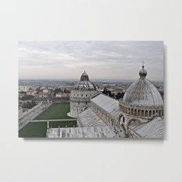 View From The Leaning Tower Metal Print