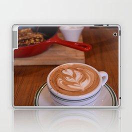 Caffe Macchiato with Breakfast - Cafe or Kitchen Decor Laptop & iPad Skin