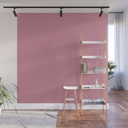 Pink Floral Seamless Pattern Wall Mural