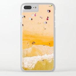 Portugal beach #society6 #decor #buyart Clear iPhone Case