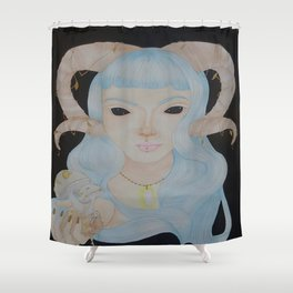 Psilocybe Shower Curtain