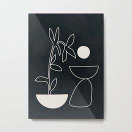 Minimal Abstrat Art 10 Metal Print