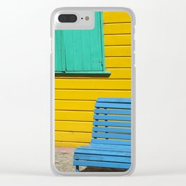 Primary Argentina Clear iPhone Case