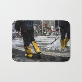 NYC Blizzard of 2015 Bath Mat