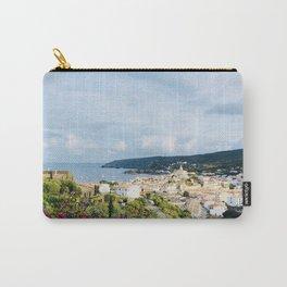 Spanish Coast | Costa Brava Cadaques Coastal Mediterranean Village Riviera Art Carry-All Pouch