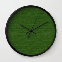 Treetop Wood Grain Color Accent Wall Clock