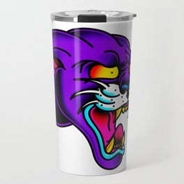 Panther Head Travel Mug