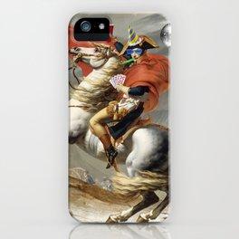 Napoleon Born2party iPhone Case