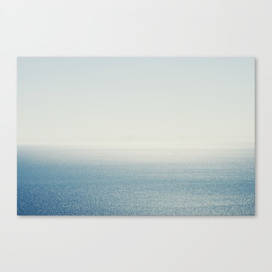 Ocean Horizon Diamonds Canvas Print