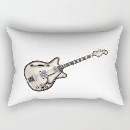 Hollow Body Guitar Rectangular Pillow