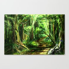 The Great Gaming Forest Canvas Print