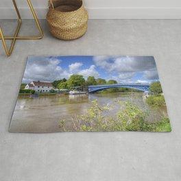 Stourport River Bridge Rug