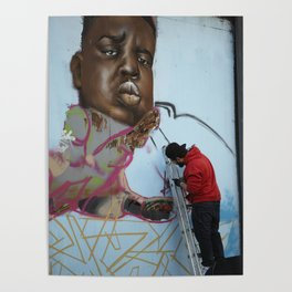 The Notorious B.I.G. Street Art Poster