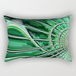Re-Created Web of Lies8 by Robert S. Lee Rectangular Pillow