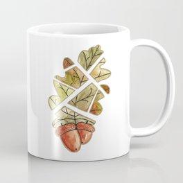 Oak leaf and acorns Coffee Mug