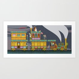 The Young Adventurers Society Art Print