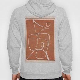 Abstract line art 47 Hoody