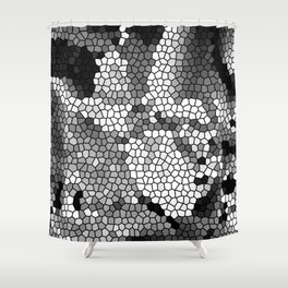 Special Black White Grey Session Shower Curtain