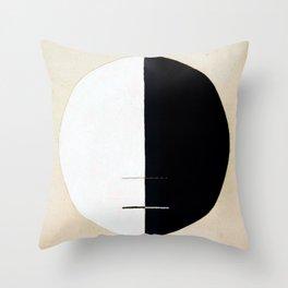 Hilma af Klint Buddha Standpoint Throw Pillow