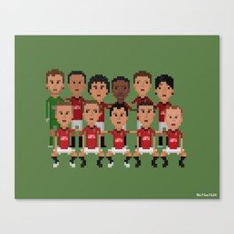 Manchester United 2013 (squad) Canvas Print