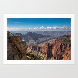North_Rim Grand_Canyon, AZ - 6 Art Print