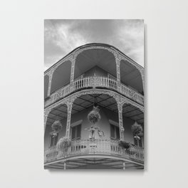 New Orleans Architecture Metal Print