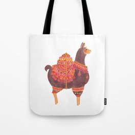 The Lovely Llama Tote Bag