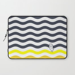 011 OWLY thick dunes Laptop Sleeve