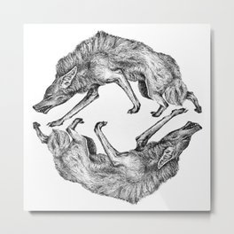 Wild Hair Metal Print