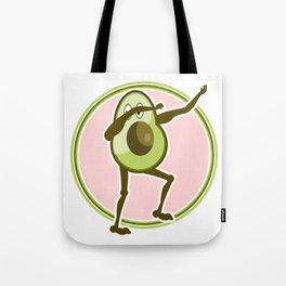 Avocado Dabbing Tote Bag