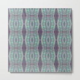 Serene Lavender & Mint Tea Metal Print