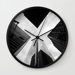 Philly X Wall Clock