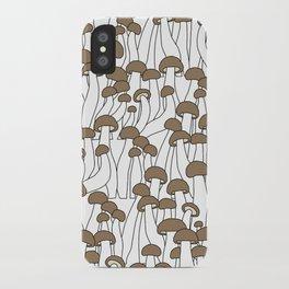Beech Mushrooms iPhone Case
