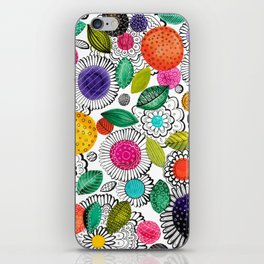 Floral Fun iPhone Skin