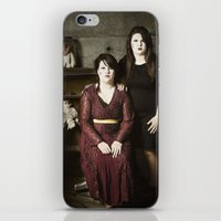 family iPhone & iPod Skins featuring Family by Flashbax Twenty Three