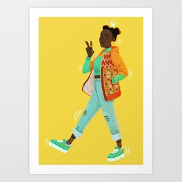 Princess of Wakanda Art Print