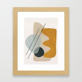 Abstract Shapes No.27 Framed Art Print