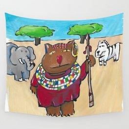 Tanzania Cat Wall Tapestry