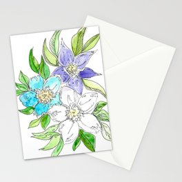 Floral II Stationery Cards