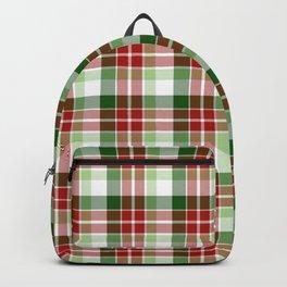 Christmas Plaid 5 Backpack