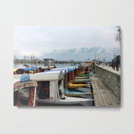 Wharf Metal Print