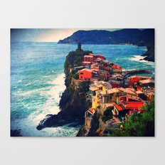 Cliff Living Canvas Print