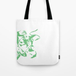 Follow the Green Herd #778 Tote Bag