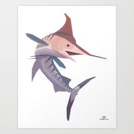 Marlin Art Print
