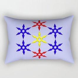 Shuriken Design Rectangular Pillow