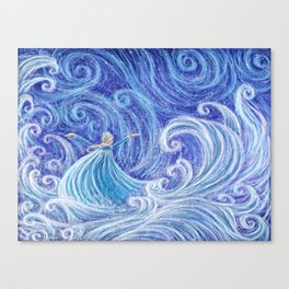 .:Let the Storm Rage On:. Canvas Print